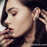 фото Пирсинг уха от 20.11.2017 №046 - Ear piercing - tatufoto.com