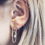 фото Пирсинг уха от 20.11.2017 №084 - Ear piercing - tatufoto.com