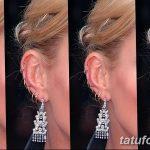 фото Пирсинг уха от 20.11.2017 №090 - Ear piercing - tatufoto.com