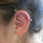фото Пирсинг уха от 20.11.2017 №103 - Ear piercing - tatufoto.com