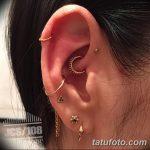 фото Пирсинг уха от 20.11.2017 №108 - Ear piercing - tatufoto.com