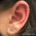 фото Пирсинг уха от 20.11.2017 №109 - Ear piercing - tatufoto.com