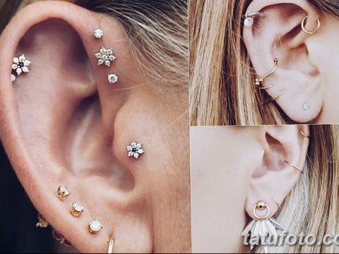 фото Пирсинг уха от 20.11.2017 №109 - Ear piercing - tatufoto.com 2562342