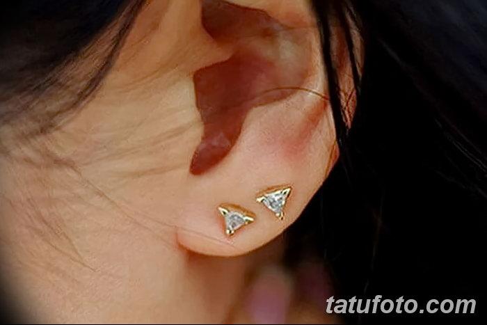 фото Пирсинг уха от 20.11.2017 №126 - Ear piercing - tatufoto.com
