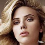 фото Тату Скарлетт Йохансон от 10.11.2017 №007 - Scarlett Johansson Tatto - tatufoto.com