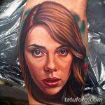 фото Тату Скарлетт Йохансон от 10.11.2017 №008 - Scarlett Johansson Tatto - tatufoto.com