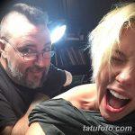 фото Тату Скарлетт Йохансон от 10.11.2017 №014 - Scarlett Johansson Tatto - tatufoto.com