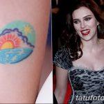 фото Тату Скарлетт Йохансон от 10.11.2017 №025 - Scarlett Johansson Tatto - tatufoto.com