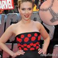 фото Тату Скарлетт Йохансон от 10.11.2017 №031 - Scarlett Johansson Tatto - tatufoto.com