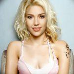 фото Тату Скарлетт Йохансон от 10.11.2017 №032 - Scarlett Johansson Tatto - tatufoto.com