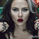 фото Тату Скарлетт Йохансон от 10.11.2017 №034 - Scarlett Johansson Tatto - tatufoto.com