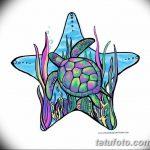 фото Эскизы тату морская звезда от 31.10.2017 №002 - Sketches of a starfish tattoo
