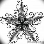 фото Эскизы тату морская звезда от 31.10.2017 №008 - Sketches of a starfish tattoo