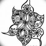 фото Эскизы тату морская звезда от 31.10.2017 №011 - Sketches of a starfish tattoo