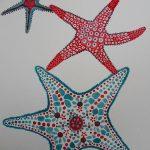 фото Эскизы тату морская звезда от 31.10.2017 №038 - Sketches of a starfish tattoo