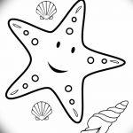 фото Эскизы тату морская звезда от 31.10.2017 №050 - Sketches of a starfish tattoo