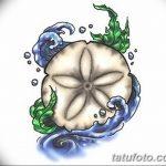 фото Эскизы тату морская звезда от 31.10.2017 №057 - Sketches of a starfish tattoo