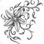 фото Эскизы тату морская звезда от 31.10.2017 №059 - Sketches of a starfish tattoo