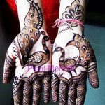 фото рисунок птица хной от 10.11.2017 №004 - drawing a henna bird - tatufoto.com