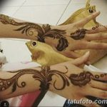 фото рисунок птица хной от 10.11.2017 №017 - drawing a henna bird - tatufoto.com