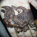 фото рисунок птица хной от 10.11.2017 №032 - drawing a henna bird - tatufoto.com