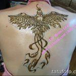 фото рисунок птица хной от 10.11.2017 №036 - drawing a henna bird - tatufoto.com
