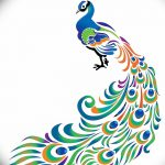 фото рисунок птица хной от 10.11.2017 №040 - drawing a henna bird - tatufoto.com