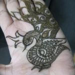 фото рисунок птица хной от 10.11.2017 №041 - drawing a henna bird - tatufoto.com