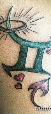 фото тату Близнецы от 28.11.2017 №005 – Tattoo Gemini – tatufoto.com