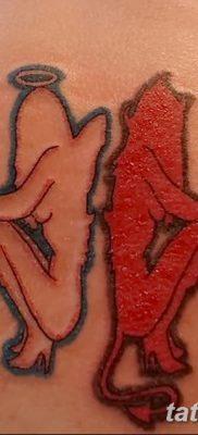 фото тату Близнецы от 28.11.2017 №018 – Tattoo Gemini – tatufoto.com