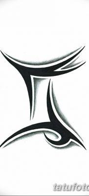 фото тату Близнецы от 28.11.2017 №029 – Tattoo Gemini – tatufoto.com