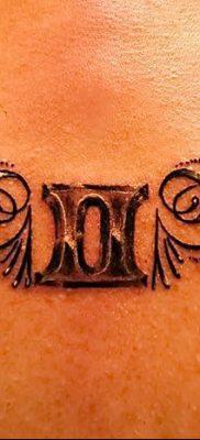 фото тату Близнецы от 28.11.2017 №033 – Tattoo Gemini – tatufoto.com