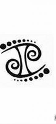 фото тату Близнецы от 28.11.2017 №036 – Tattoo Gemini – tatufoto.com