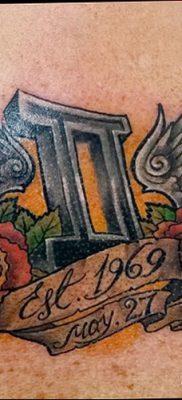 фото тату Близнецы от 28.11.2017 №047 – Tattoo Gemini – tatufoto.com