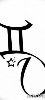 фото тату Близнецы от 28.11.2017 №061 – Tattoo Gemini – tatufoto.com