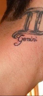 фото тату Близнецы от 28.11.2017 №069 – Tattoo Gemini – tatufoto.com