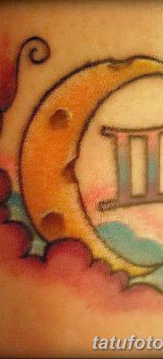фото тату Близнецы от 28.11.2017 №078 – Tattoo Gemini – tatufoto.com
