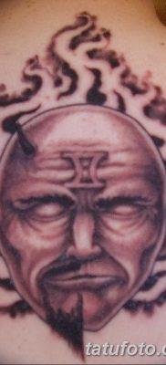 фото тату Близнецы от 28.11.2017 №079 – Tattoo Gemini – tatufoto.com
