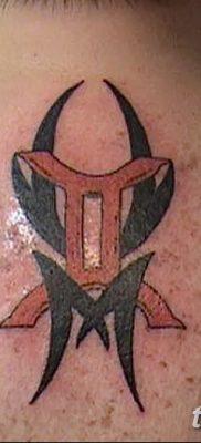 фото тату Близнецы от 28.11.2017 №080 – Tattoo Gemini – tatufoto.com