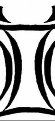 фото тату Близнецы от 28.11.2017 №083 – Tattoo Gemini – tatufoto.com