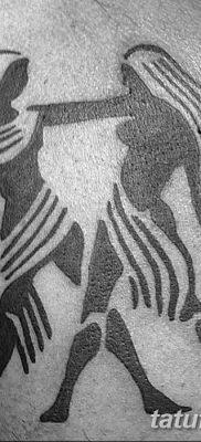 фото тату Близнецы от 28.11.2017 №097 – Tattoo Gemini – tatufoto.com