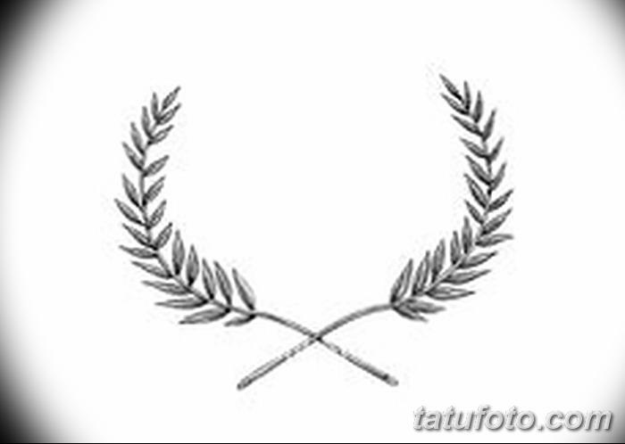 фото тату оливковая ветвь от 13.11.2017 №027 - olive branch tattoo - tatufoto.com