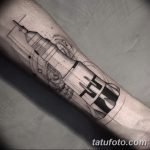 фото тату ракета от 08.11.2017 №027 - tattoo rocket - tatufoto.com