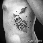 фото тату ракета от 08.11.2017 №077 - tattoo rocket - tatufoto.com