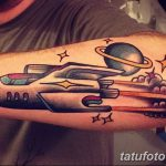 фото тату ракета от 08.11.2017 №096 - tattoo rocket - tatufoto.com