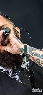 фото тату рок музыкантов от 27.11.2017 №039 – tattoo rock musicians – tatufoto.com
