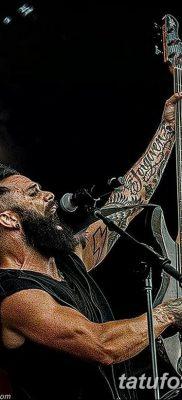 фото тату рок музыкантов от 27.11.2017 №077 – tattoo rock musicians – tatufoto.com