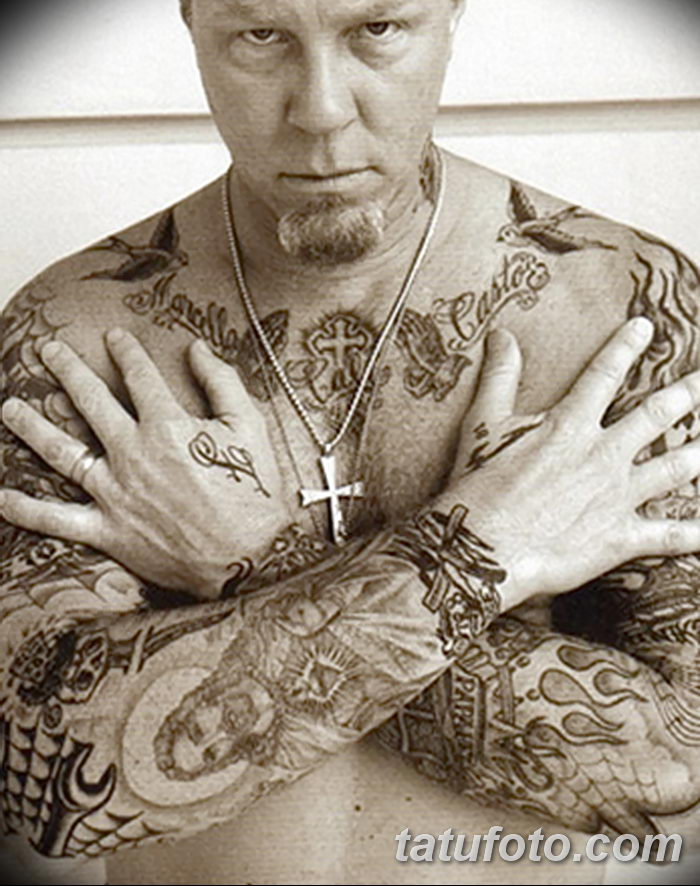 james hetfield tattoos - 700×886