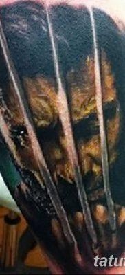 фото тату росомаха от 17.11.2017 №002 – Wolverine tattoo – tatufoto.com