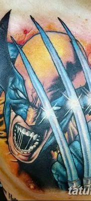 фото тату росомаха от 17.11.2017 №004 – Wolverine tattoo – tatufoto.com
